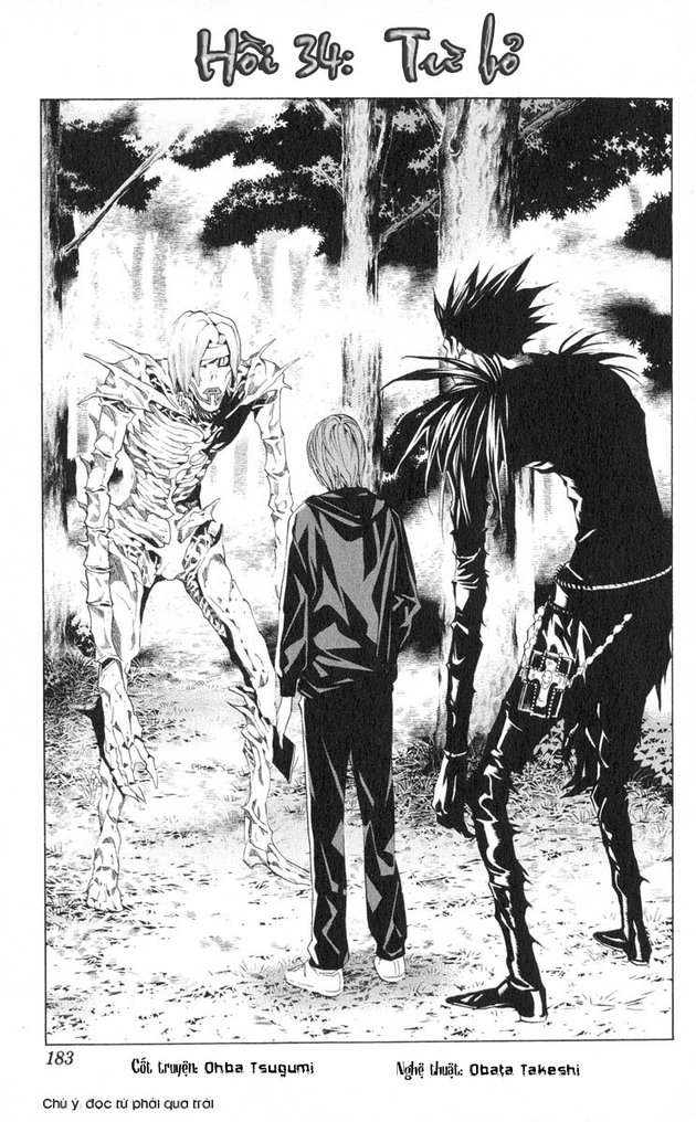 Death Note chapter 034 trang 2