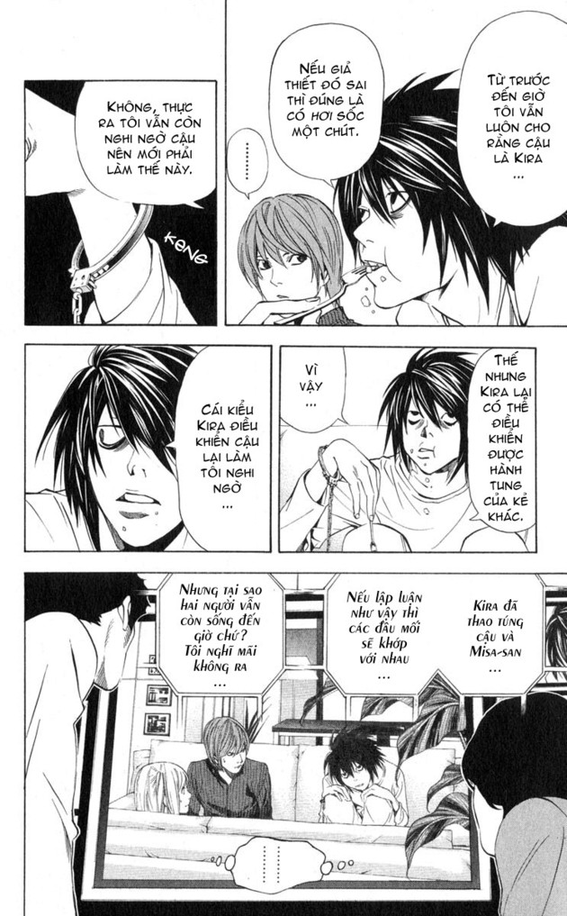 Death Note chapter 038 trang 8