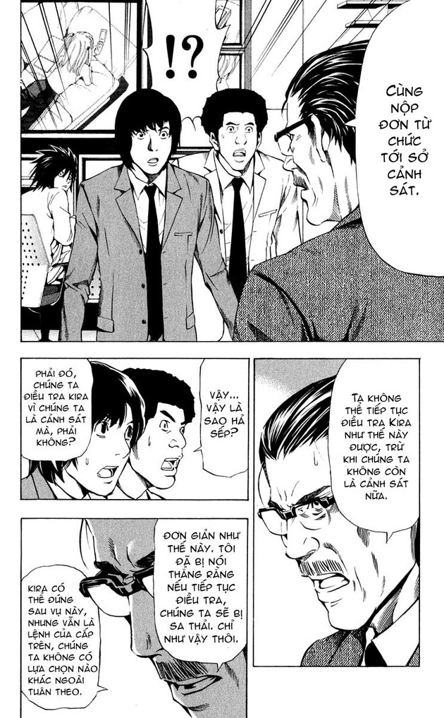 Death Note chapter 039 trang 18