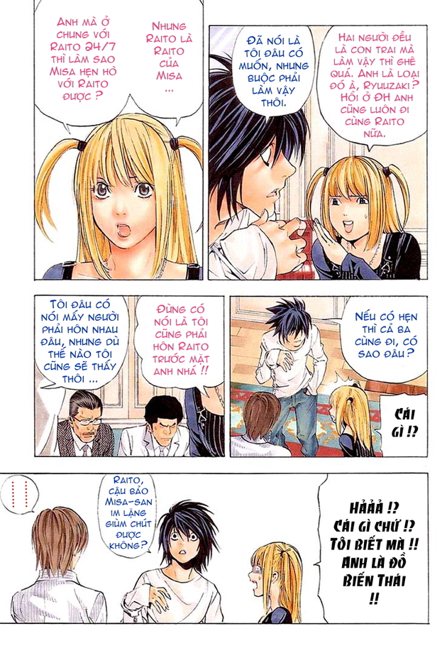 Death Note chapter 037 trang 4