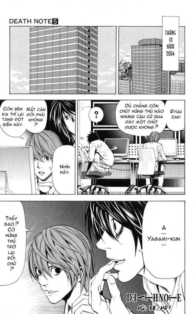 Death Note chapter 038 trang 21