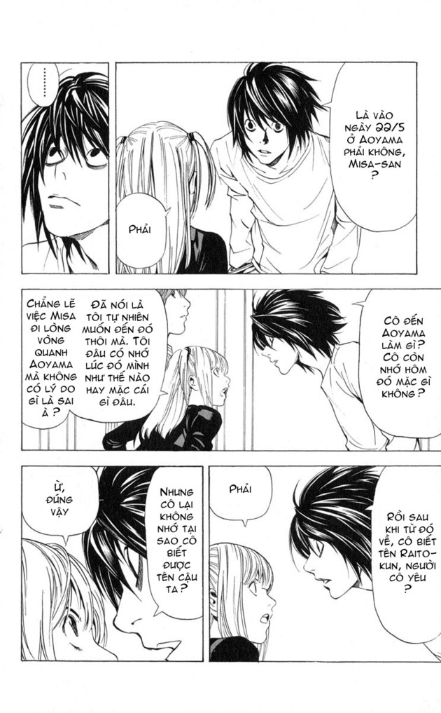Death Note chapter 037 trang 6