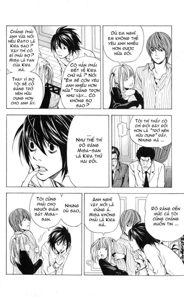 Death Note chapter 037 trang 8