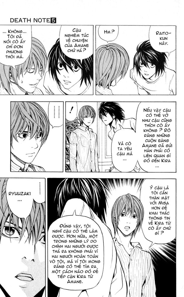 Death Note chapter 037 trang 11