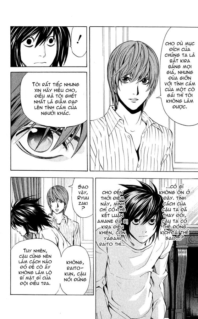 Death Note chapter 037 trang 12