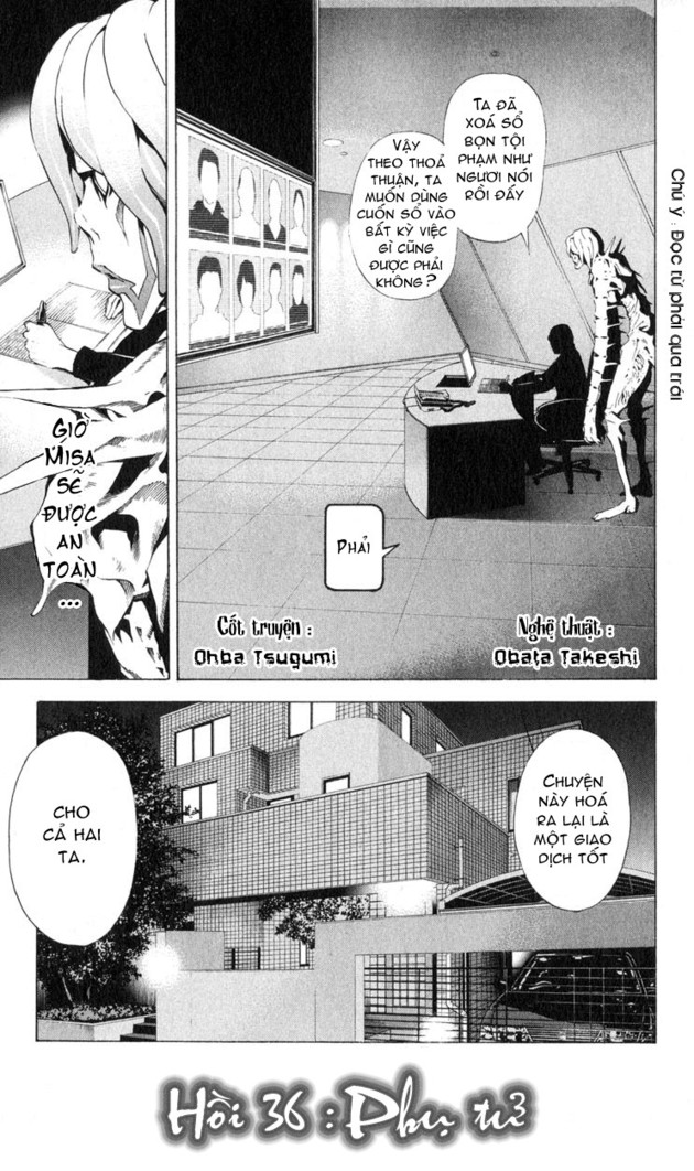 Death Note chapter 036 trang 1