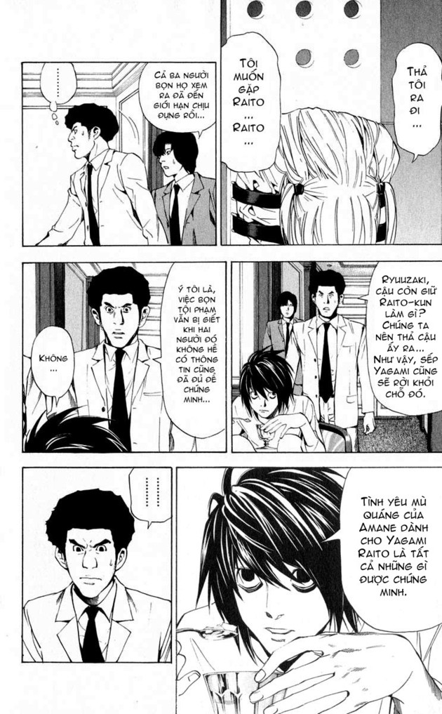 Death Note chapter 036 trang 4