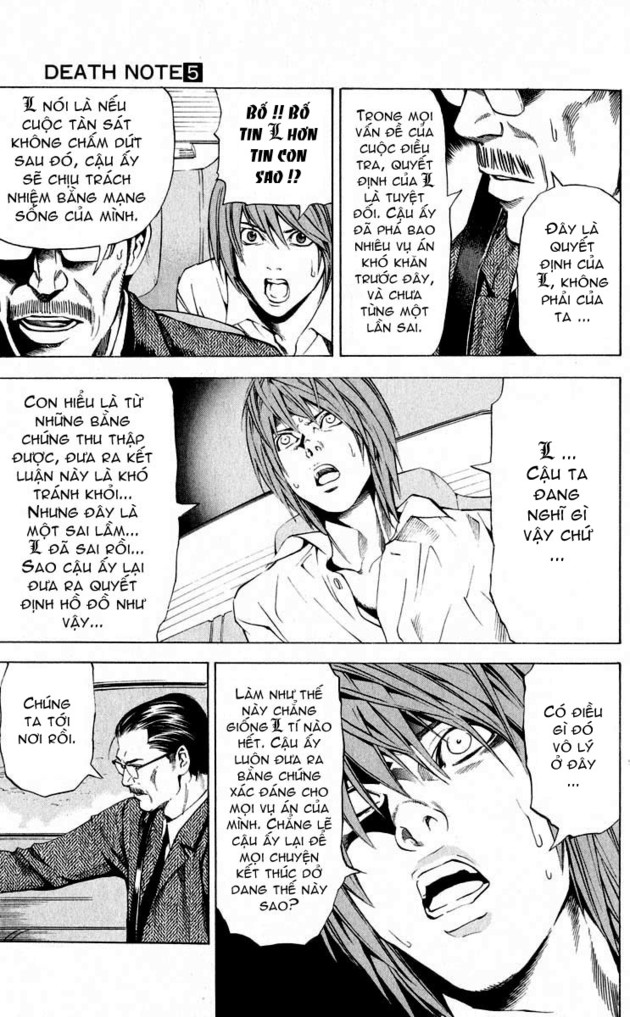 Death Note chapter 036 trang 11