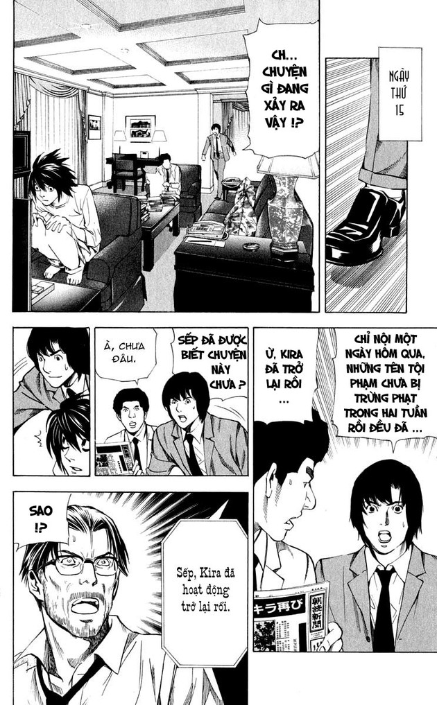 Death Note chapter 035 trang 15