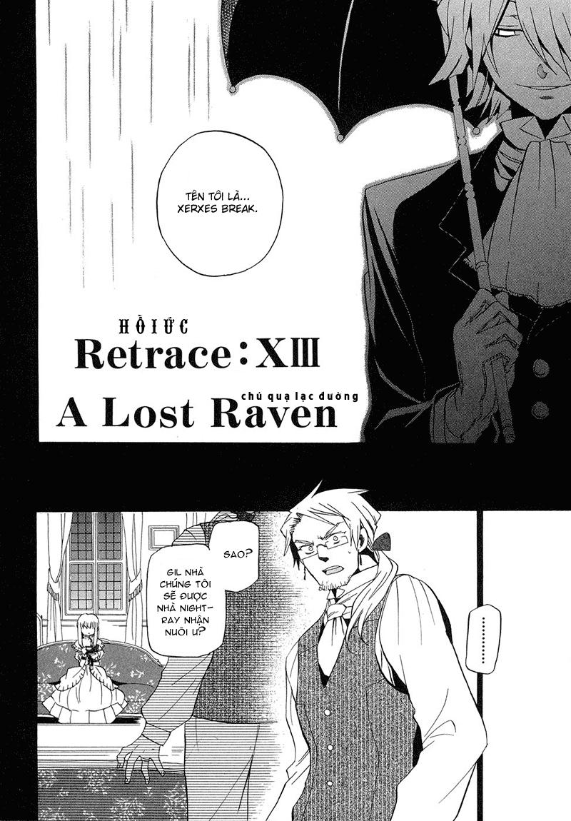 Pandora Hearts chương 013 - retrace: xiii a lost raven trang 2