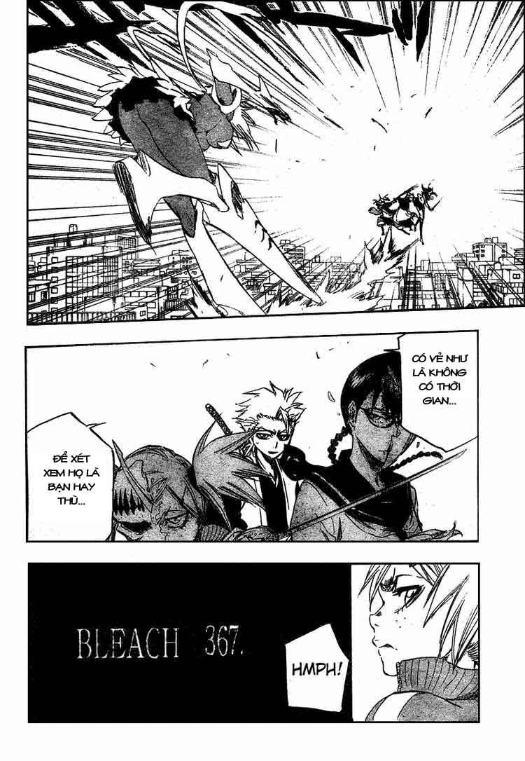 Bleach chapter 367 trang 8