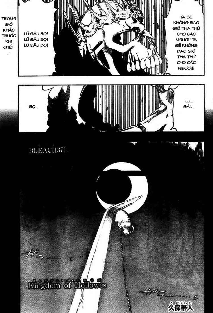 Bleach chapter 371 trang 1