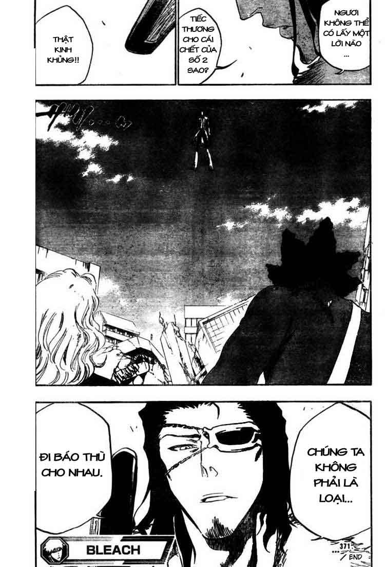 Bleach chapter 371 trang 18