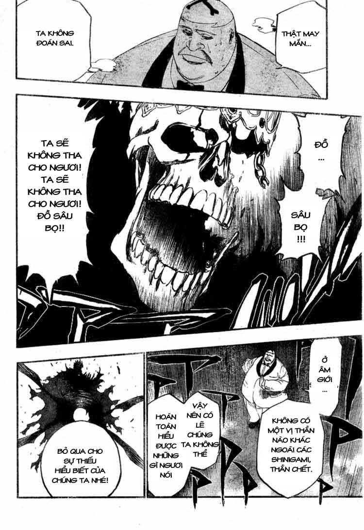 Bleach chapter 370 trang 18