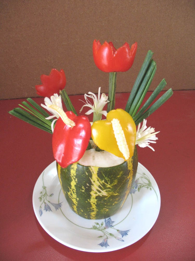 salad decoration images pictures and photos,salad ...
