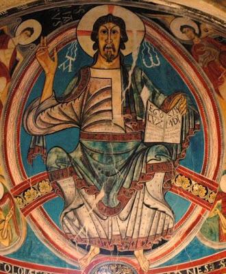 El Pantocrator De San Clemente De Tahull Ensen Arte