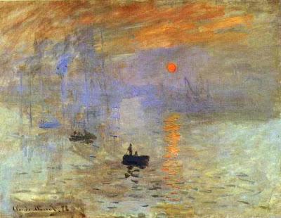 "Claude Monet: ""Impresión: sol naciente"" (1872). París."