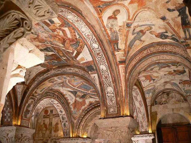 Resultado de imagen de pintura romanica SAN ISIDORA