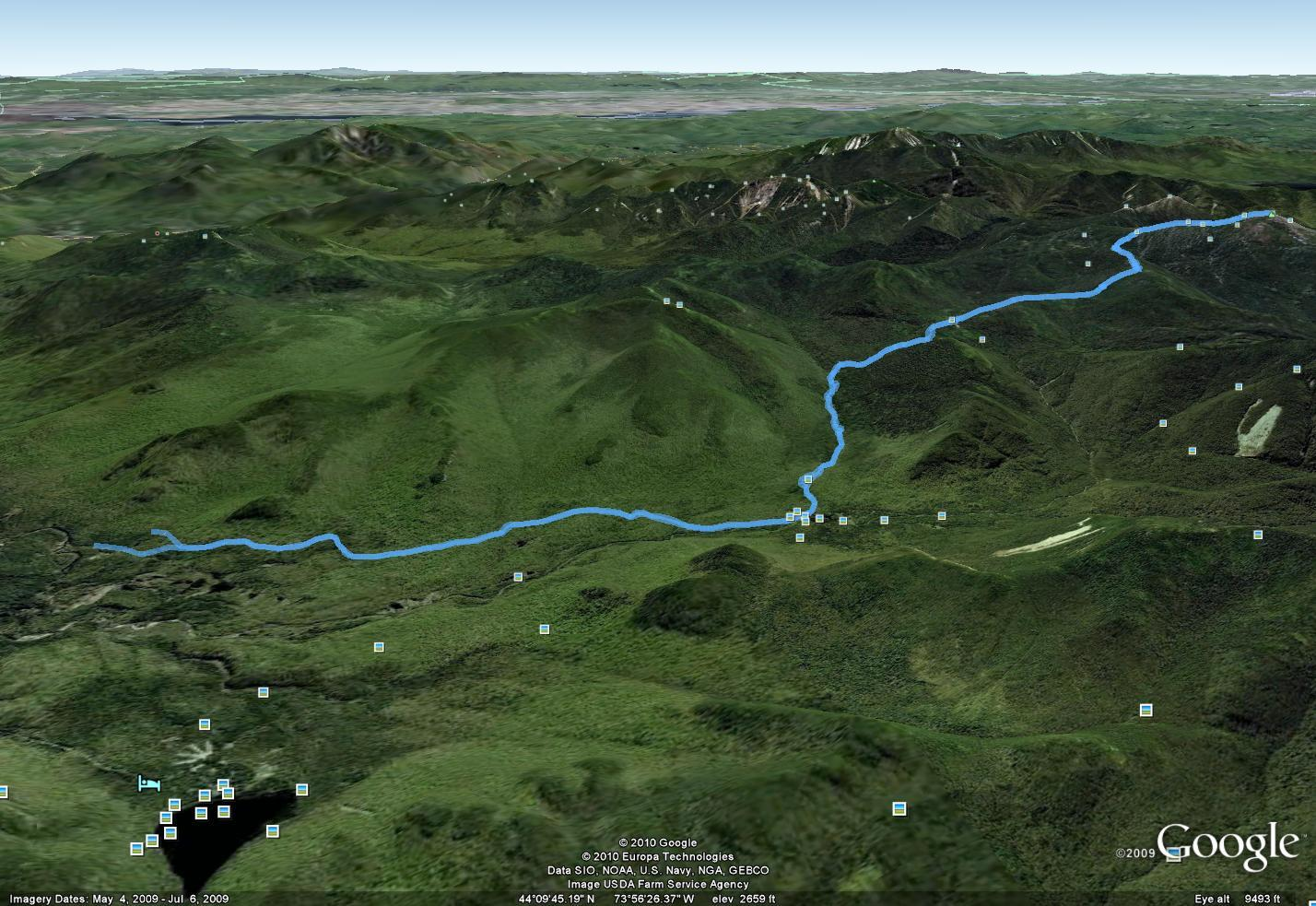 Peterson Highpoints: GPS tracks and routes (something I