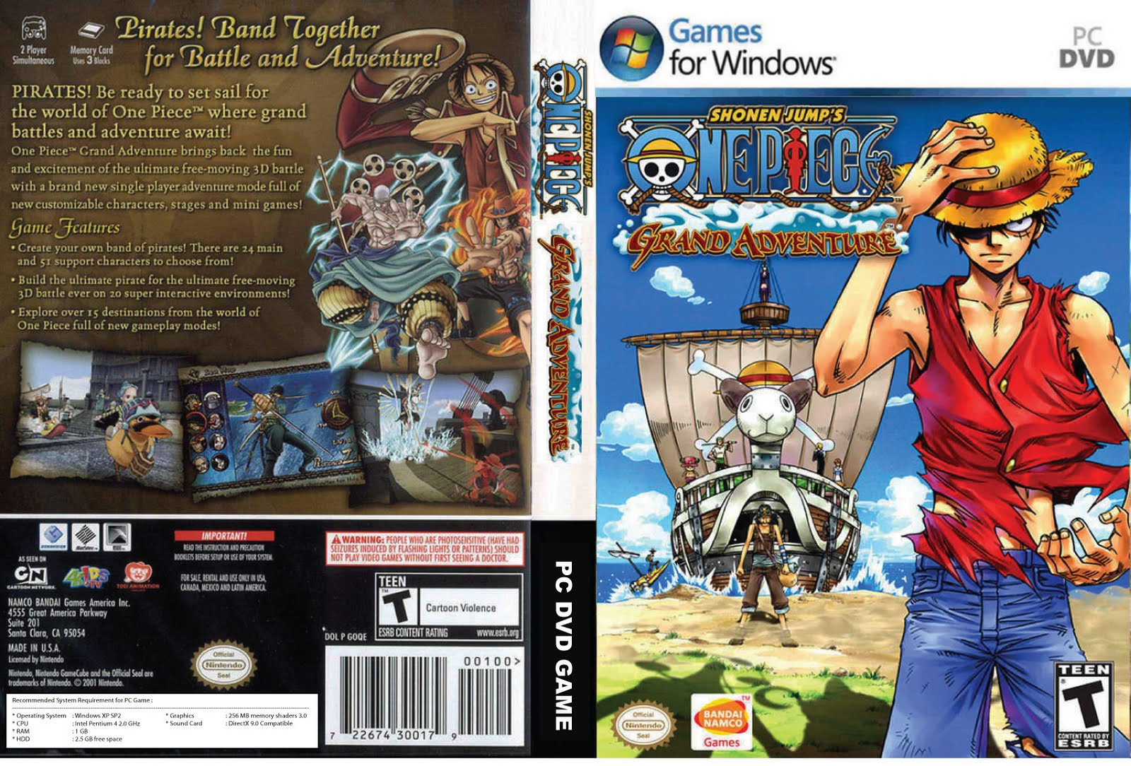 Games And Movies Onepiece Grand Adventure Pc