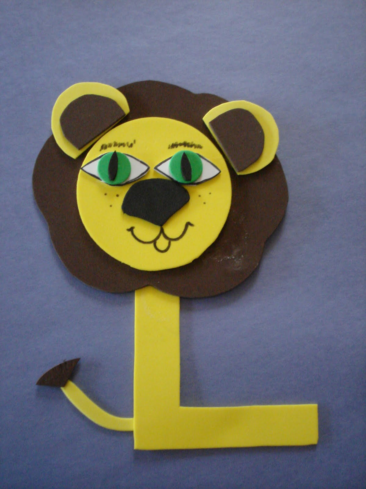 Play And Learn With Dana Letter L Lion