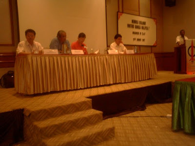 The panelists including Jeff Ooi and Haris Ibrahim