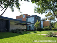 Modern homes in the Kessler Woods area of Dallas