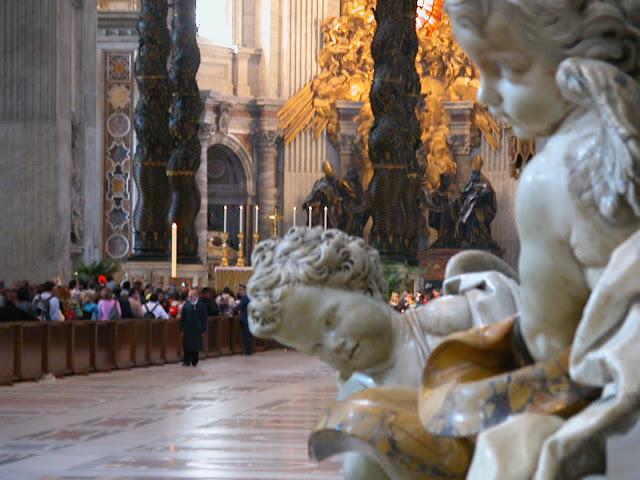 tombe de jean paul II, vatican, rome, italie, rome en images