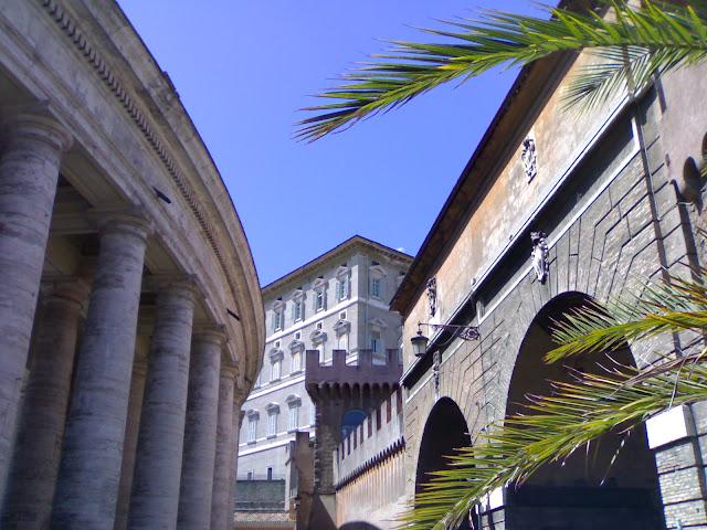 murs du vatican, italie