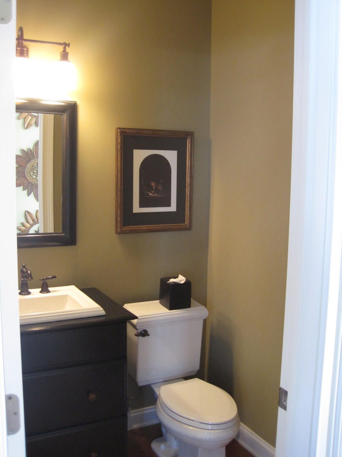 Maura 39 s decorating blog powder room - Small powder room designs ...