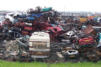 Picture of a scrapyard