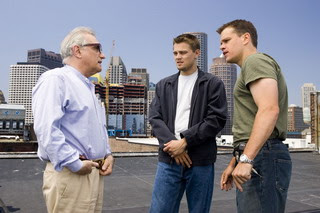 The Departed: Di Caprio, Scorsese & Damon