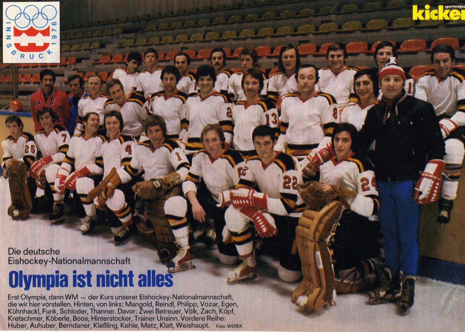 Eishockey Innsbruck 1976