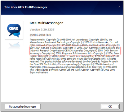 gmx multi messenger