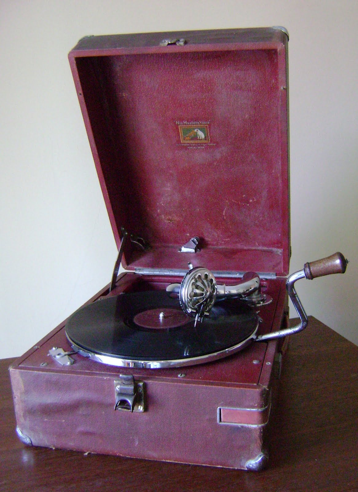 What Is My Paypal Email >> KINTA VALLEY AUDIO: His Master's Voice gramophone ( Used ) Sold