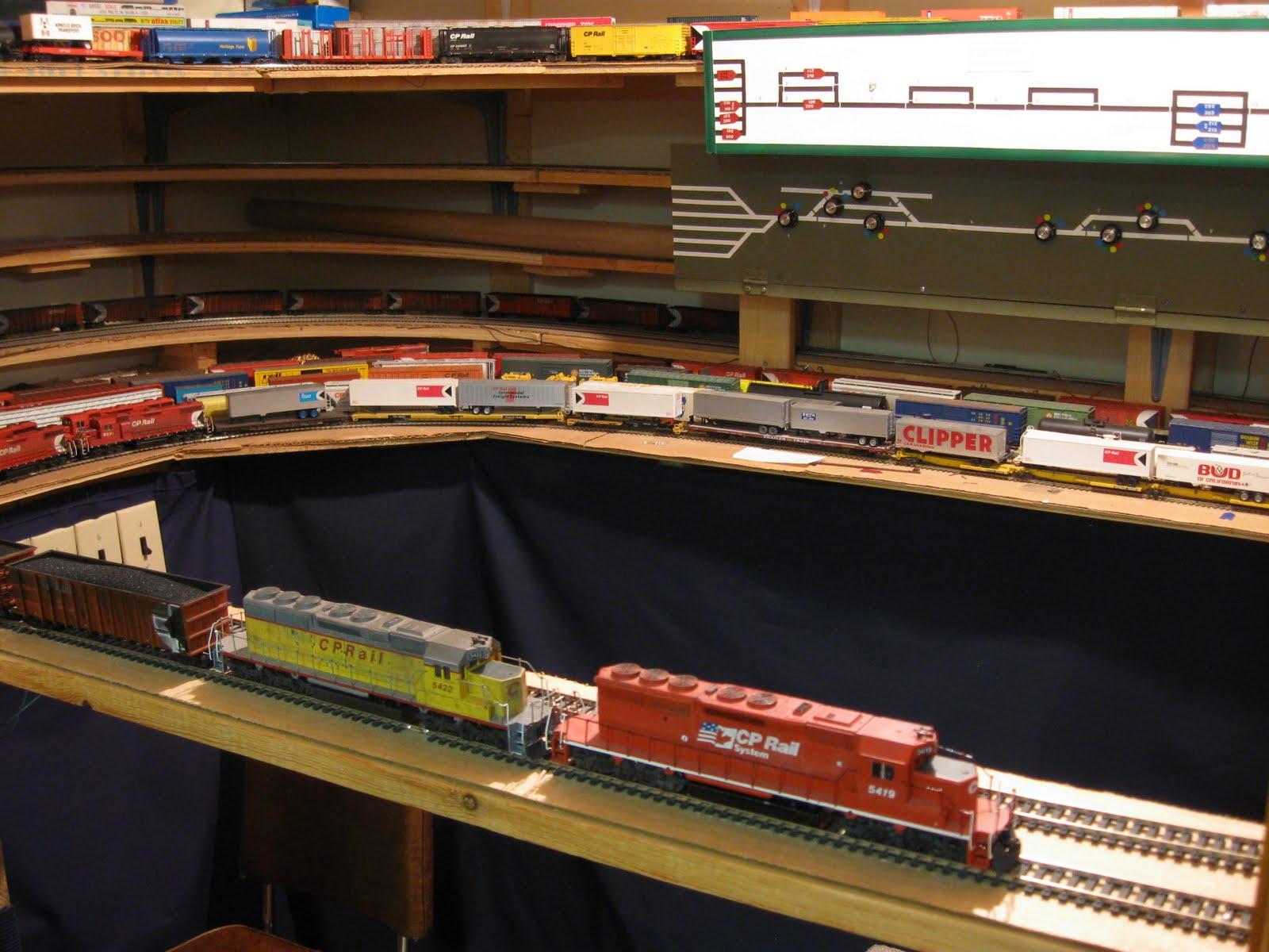 Cp Rail Manitoba Amp Minnesota Subdivision Staging Yards On