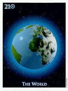 Tarot Notes: THE WORLD - Astrological Associations
