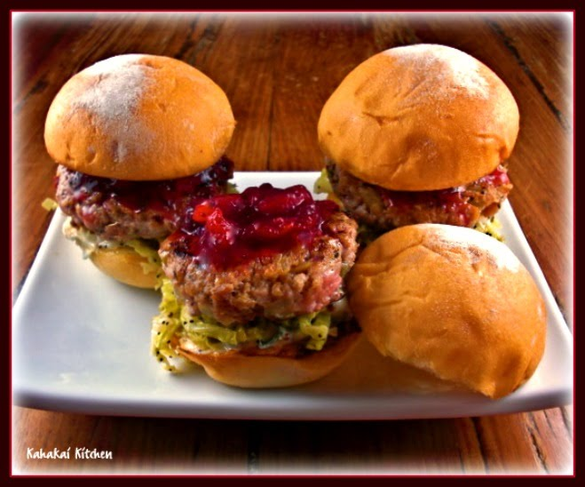 Kahakai Kitchen Quot Spectacular Side Dish Turkey Sliders