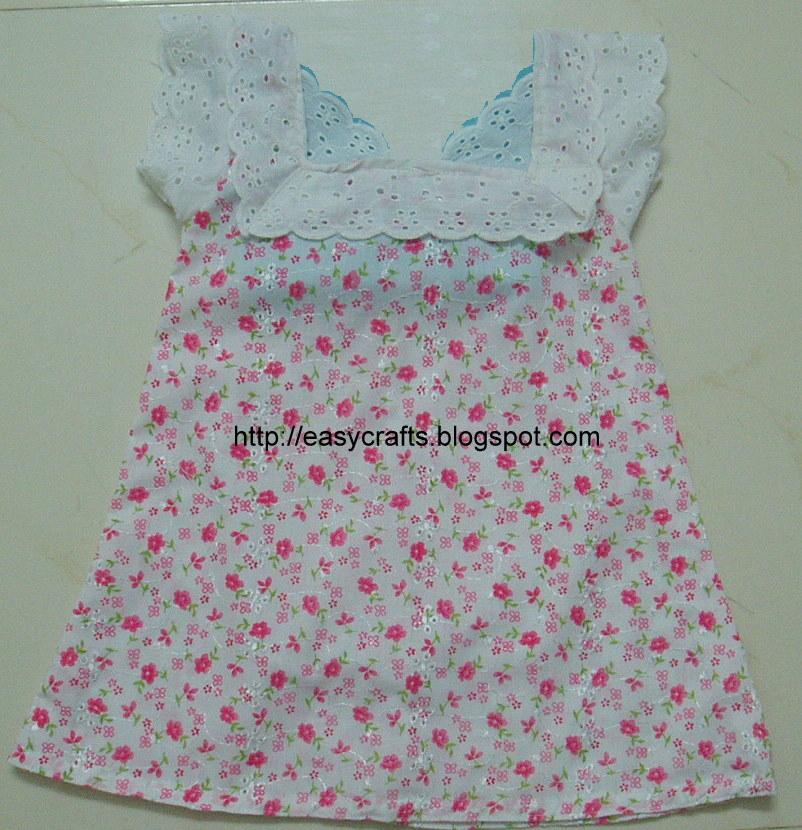 c27c2b0a27ba Easy Crafts - Explore your creativity  Small baby frock