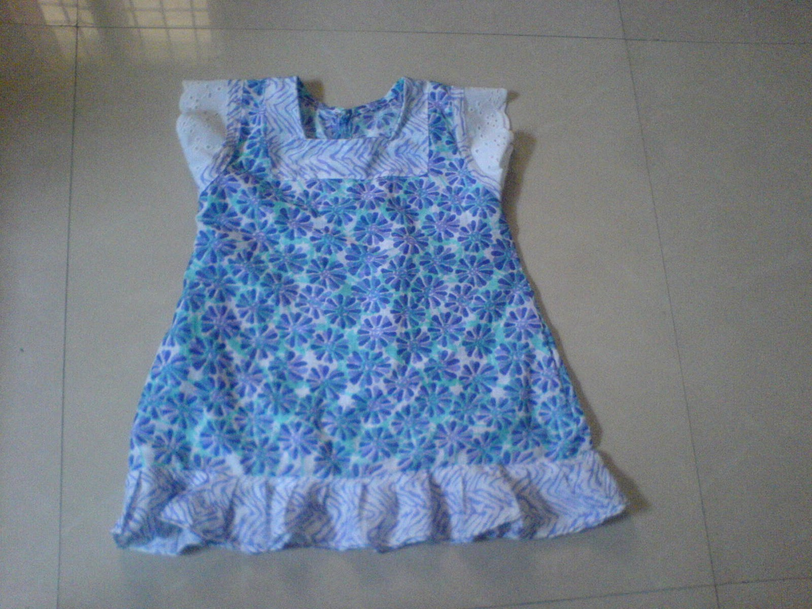 f44ef77ccb07 Easy Crafts - Explore your creativity  Baby girl frock