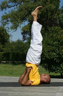 sarvangasana shoulder stand  world yoga suda