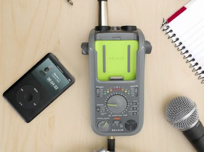 Belkin's portable iPod recorder gets real, gets new name