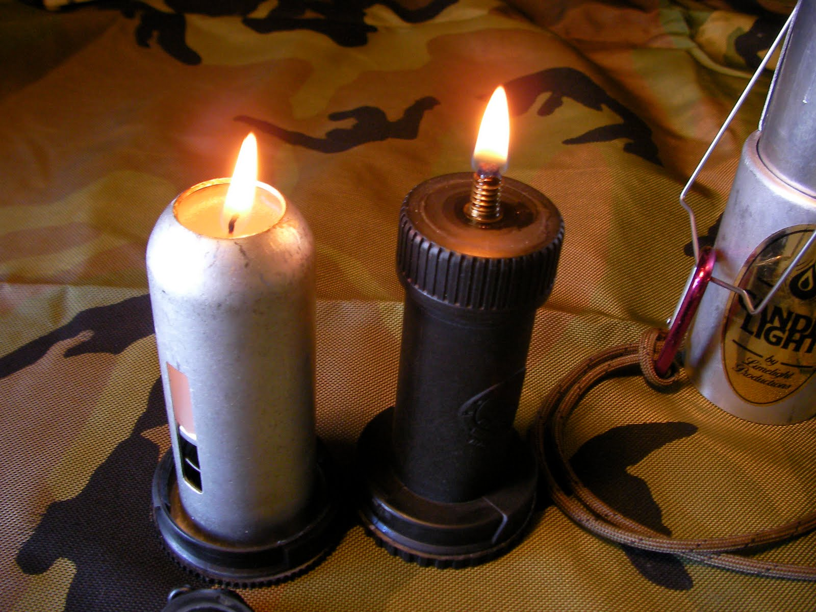 Common Outdoor Skills And Survival Candle Lanters Oil Lamp