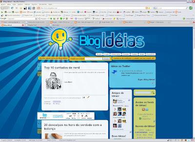 Novo Blog Idéias!