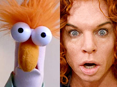 Celebridades parecidas com bonecos Muppets