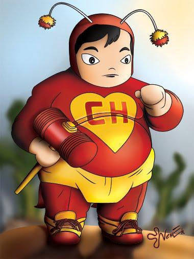 Os super heróis gordinhos