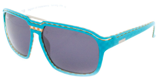 Legion of Indecency – turquoise orange check. Les lunettes Paul Frank ... 86cab9b9afec