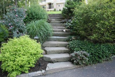 heirloom gardener: Front Yard Gardening Design Challenge ... on Downward Sloping Garden Ideas id=92663