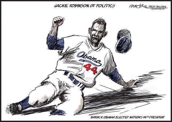 Charleston Voice: Jackie Robinson (Brooklyn Dodgers) was a