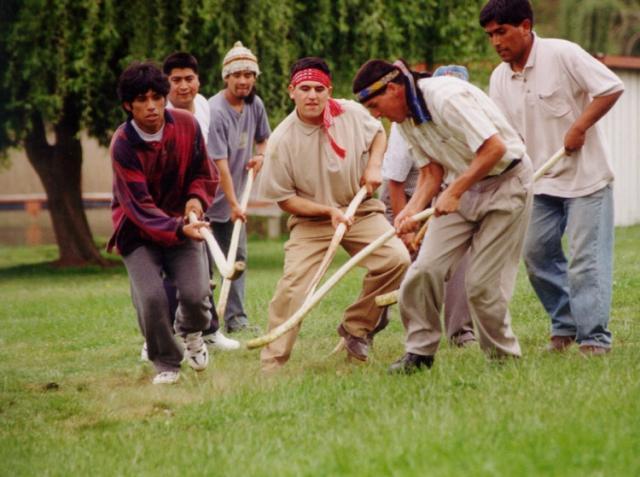 Sur De Chile Juegos Tipicos Mapuches
